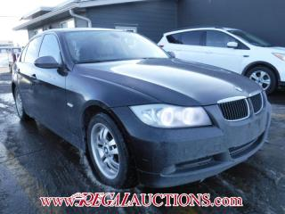 Used 2007 BMW 3 SERIES 323I 4D SEDAN for sale in Calgary, AB