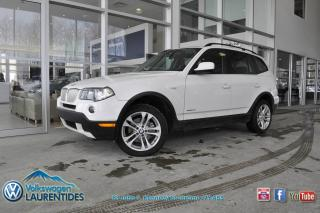 Used 2010 BMW X3 XDRIVE*3.0L*TOIT*MAGS*GR ELEC* for sale in Saint-jerome, QC