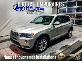 Used 2011 BMW X3 28I X-DRIVE +PRENIUM + TOIT PANO for sale in Drummondville, QC