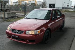 Used 2001 Toyota Corolla PLUS for sale in Langley, BC