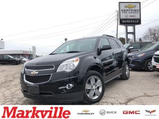 Used 2013 Chevrolet Equinox 2LT-LEATHER-NAVI-GM CERTIFIED PRE-OWNED-1 OWNER for sale in Markham, ON