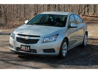 Used 2014 Chevrolet Cruze 1LT Bluetooth | CERTIFIED for sale in Waterloo, ON