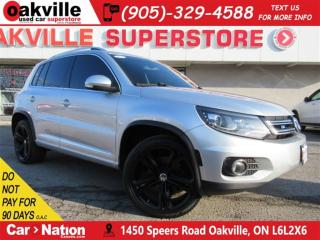 Used 2013 Volkswagen Tiguan 2.0 TSI R LINE | LEATHER | NAVI | PANO ROOF | AWD for sale in Oakville, ON