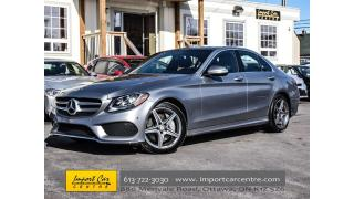 Used 2015 Mercedes-Benz C-Class 300 4MATIC AGILITY SELECT PANO ROOF NAVIGATION for sale in Ottawa, ON