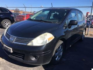 Used 2007 Nissan Versa 1.8 SL for sale in Burlington, ON