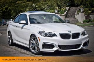 Used 2015 BMW M235 M235i xDrive Nav Cam Moonroof for sale in Winnipeg, MB