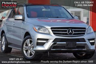 Used 2012 Mercedes-Benz ML 350 BlueTEC 4MATIC for sale in Pickering, ON