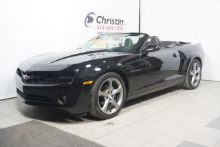 Used 2013 Chevrolet Camaro Convertible 2LT RS for sale in Pointe-aux-trembles, QC