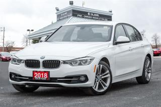 Used 2018 BMW 330i XDRIVE| NAVIGATION | SPORT | CLEAN CARPROOF | for sale in Mississauga, ON