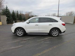 Used 2016 Acura MDX ELITE AWD for sale in Cayuga, ON