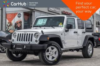New 2018 Jeep Wrangler JK Unlimited New Car Sport|LED Lighting,Pwr Convi Pkgs|Keyless_Entry for sale in Thornhill, ON