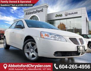Used 2008 Pontiac G6 SE *WHOLESALE DIRECT* for sale in Abbotsford, BC