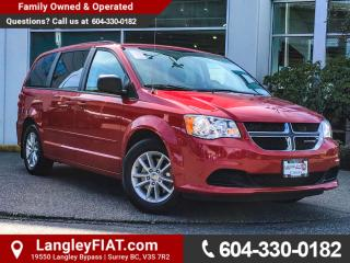 Used 2015 Dodge Grand Caravan SE/SXT NO ACCIDENTS, B.C OWNED for sale in Surrey, BC