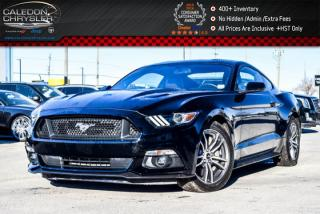 Used 2017 Ford Mustang GT|Navi|Backup Cam|Bluetooth|Leather|R-Start|Heated Front seats|18