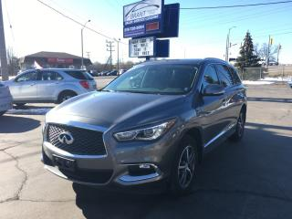 Used 2017 Infiniti QX60 Base AWD Premium Package for sale in Brantford, ON