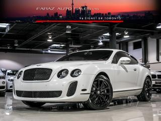 Used 2010 Bentley Continental GT Speed W12|CARBON FIBER for sale in North York, ON