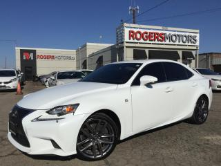 Used 2015 Lexus IS 350 AWD - F SPORT - NAVI - REVERSE CAM for sale in Oakville, ON