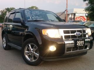 Used 2011 Ford Escape Limited for sale in Mississauga, ON