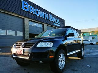 Used 2004 Volkswagen Touareg Leather, heated seats, V8 for sale in Surrey, BC