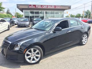 Used 2014 Cadillac ATS AWD w/B-Cam/heated leather for sale in Mississauga, ON