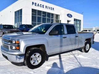Used 2014 Chevrolet Silverado 1500 1LT 4x4 Crew Cab 5.75 ft. box 143.5 in. WB for sale in Peace River, AB
