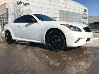 Used 2015 Infiniti Q60 LIMITED EDITION COUPE/ALL WHEEL DRIVE/NAVIGATION/HEATED SEATS/BACK UP CAMERA for sale in Edmonton, AB