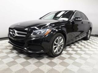 Used 2015 Mercedes-Benz C-Class 4MATIC - Local One Owner Trade In | No Accidents | 2 Sets of Tires | Leather Interior | Heated Front Seats | Dual Zone Climate Control with AC | Blind Spot Monitor | Pre-Collision Warning | Attention Assist| Panoramic Sunroof | Power/Memory Seats | Naviga for sale in Edmonton, AB