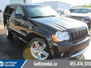 Used 2010 Jeep Grand Cherokee SRT8/SUNROOF/LEATHER/ACCIDENTFREE for sale in Edmonton, AB