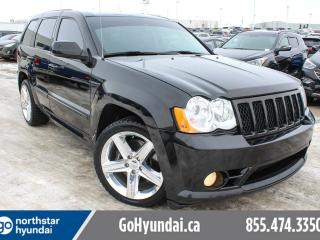 Used 2008 Jeep Grand Cherokee SRT8/NAV/SUNROOF/ACCIDENTFREE/TINT for sale in Edmonton, AB