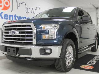 Used 2016 Ford F-150 XLT XTR package with triple front seats and keyless entry for sale in Edmonton, AB