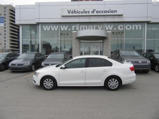 Used 2014 Volkswagen Jetta Sedan Trendline+ for sale in St-Léonard, QC