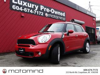 Used 2014 MINI Cooper Countryman S for sale in Coquitlam, BC