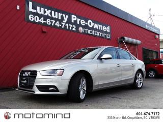 Used 2013 Audi A4 PREMIUM PLUS for sale in Coquitlam, BC