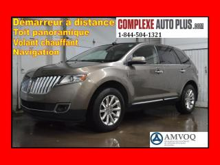Used 2012 Lincoln MKX Awd Navi/gps,cuir,t for sale in Saint-jerome, QC