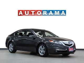 Used 2011 Acura TL TECH PKG NAVIGATION LEATHER SUNROOF BACKUP CAMERA for sale in North York, ON