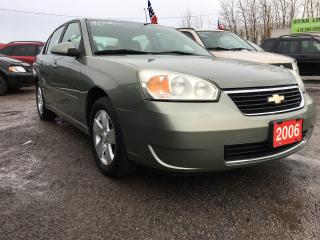 Used 2006 Chevrolet Malibu LT/loaded/alloys/spoiler for sale in Pickering, ON