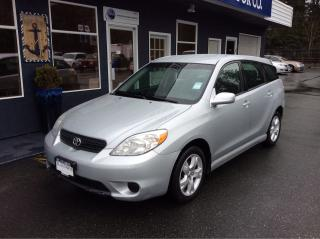 Used 2007 Toyota Matrix XR for sale in Parksville, BC
