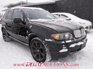 Used 2006 BMW X5 4.8IS  4D UTILITY for sale in Calgary, AB
