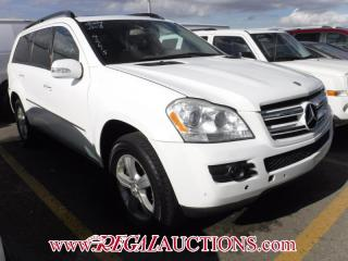 Used 2007 Mercedes-Benz GL-CLASS GL450 4D UTILITY 4MATIC for sale in Calgary, AB