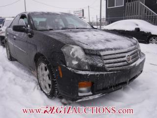 Used 2005 Cadillac CTS BASE 4D SEDAN for sale in Calgary, AB