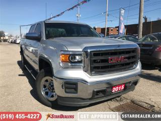 Used 2015 GMC Sierra 1500 | CAM | 4X4 | 6PASS for sale in London, ON