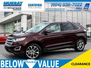 Used 2017 Ford Edge Titanium **NAVI**BLUETOOTH**REAR CAMERA** for sale in Surrey, BC
