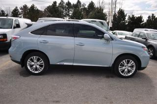 Used 2010 Lexus RX 450h ULTRA PREMIUM NAV*TV-DVD*SUNROOF for sale in Aurora, ON