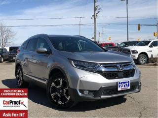 Used 2017 Honda CR-V TOURING ALL WHEEL DRIVE**NAVIGATION**POWER SUNROOF for sale in Mississauga, ON