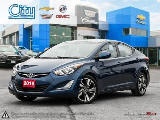 Used 2016 Hyundai Elantra GLS - at for sale in North York, ON