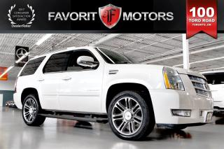 Used 2012 Cadillac Escalade AWD | 7-PASSENGER | NAV | BACK CAM | DVD for sale in North York, ON