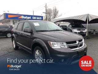 Used 2017 Dodge Journey SXT Edition with Pentastar V6, Low Kms for sale in Vancouver, BC
