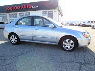 Used 2008 Kia Spectra LX Auto 2.0L 4dr Certified 2 yrs Warranty for sale in Milton, ON