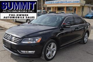 Used 2015 Volkswagen Passat HIGHLINE,NAVI,B/U CAMERA for sale in Richmond Hill, ON