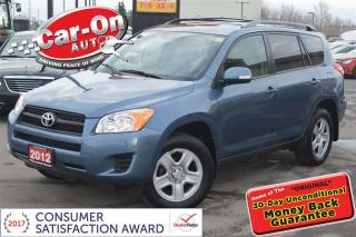 Used 2012 Toyota RAV4 SUNROOF POWER GROUP BLUETOOTH ONLY 83,000 KM for sale in Ottawa, ON